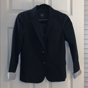 Navy blazer from Gap